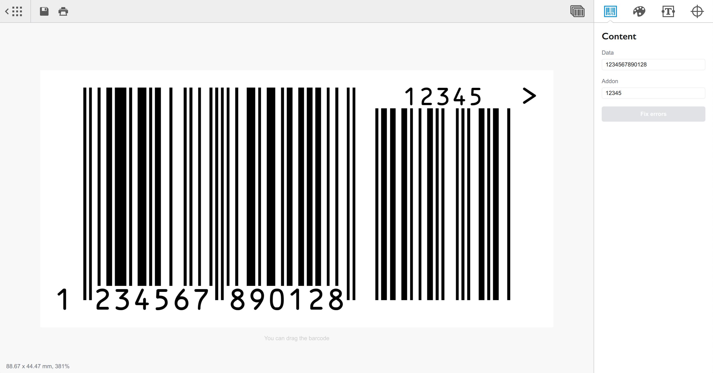 Barcode 1.10 Mac 破解版 专业条形码生成器-麦氪派(WaitsUn.com   爱情守望者)