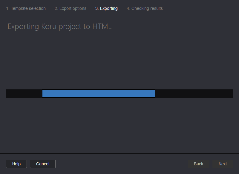 Exporting 3D model to single HTML file