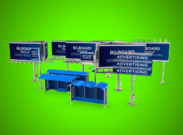 Outdoor Advertising Set